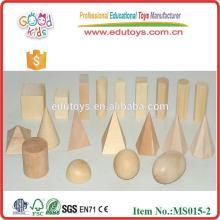 Montessori Geometric Shape Block brick toys
