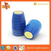 Индивидуальное термоусадочное уплотнение крышки, пластиковое уплотнение крышки бутылки с печатью, предварительно сшитое уплотнение крышки для упаковки