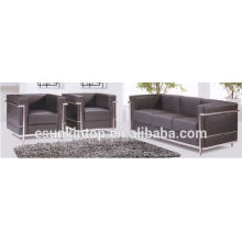 ks816 Contemporary furniture office sofas stainless steel legs sofas