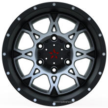 4X4 Alloy Wheels with black machine face UFO-895