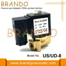 Válvula electromagnética tipo US-8 G1 / 4 '' 2/2 NC UNI-D