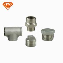 """3/8 """"- encaixes de tubulação de aço inoxidável SS304 / 316 NPT / BSPT bom preço"""