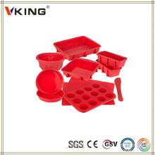 Produtos de venda superior Silicone flexível Bakeware