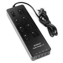 ORICO TPC 8A4U 8 Steckdosen Überspannungsschutz mit USB-Smart-Ladeanschluss
