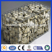Hot Dipped Galvanized After Welded Landscaping Square Wire Mesh Gabion Box