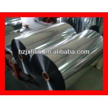 Película acrílica de poliéster metalizado