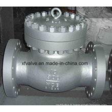 Vanne de retenue à bascule en acier à fonte moulée standard ANSI Standard