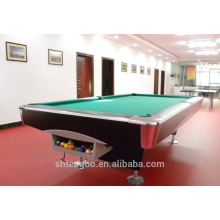 Rubber Cushion Wood Slate Billiard pool tables with CE&ROHS