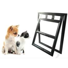 Plastic Pet Dog Puppy Cat Door