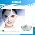 Фабричная цена Осветляющий кожу материал 501-30-4 Kojic Acid 99%