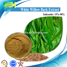 High Quality Salix babylonicaL., White Willow Bark Extract, Salix Alba Leaf Extract