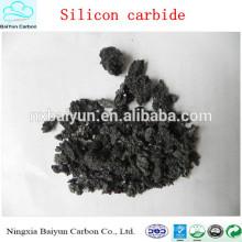 Prix de poudre de carbure de silicium de dureté élevée pour le sablage