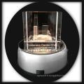 gravé au laser 3D crystal buddilng cristal cadeaux artisanat avec base led tourner
