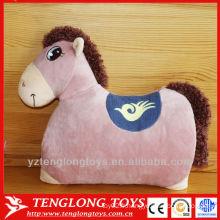 Coussin d'animal de peluche de dessin animé de décoration de canapé pour enfant