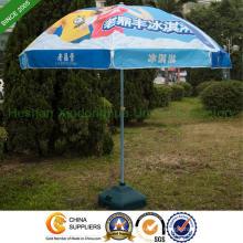 2,2 m chaleur transfert impression soleil Parasol avec deux côtes (BU-0048WD)