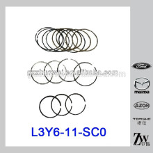 Pièces de rechange RIK Piston Ring STD pour Mazda M6 / 2.0 2.3 / M3 L3Y6-11-SC0 RIK30155