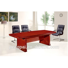 2015 New Product Fashion reddish brown Square Wooden Meeting Table