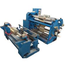 Machine de rebobinage de papier d'aluminium