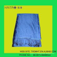 100 %% Belle toile de soie SHAWL SCARF avec des couleurs vibrantes vives