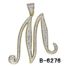 New Fashion Jewelry 925 Sterling Silver Letter Pendant