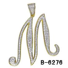 Новый Ювелирных Изделий Мода 925 Серебряное Привесное Письмо