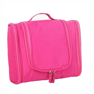 Custom Logo Large Capacity Hanging Cosmetic Toiletry Bag For Women
