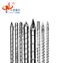 Plastic machine injection screw barrel/single screw barrel for injection
