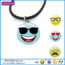 Collar de los vidrios de Sun del collar de los regalos de la promoción de la aleación del cinc del precio de fábrica