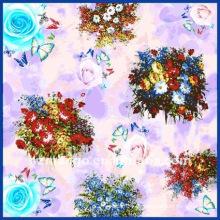 Bufandas cuadradas de la impresión digital de la última moda