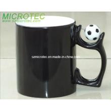 11oz Football Spinner Color Change Sublimation Mug