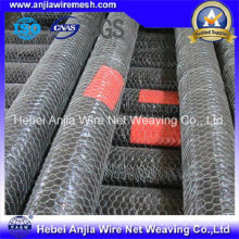 CE/SGS Galvanized Iron Wire Hexagonal Netting Chicken Poultry Mesh