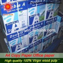 Großhandel 80GSM dünne A4 Kopierpapier hohe Qualität mit günstigen Preis