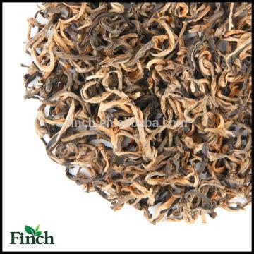 Beneficios para la salud y adelgazamiento Té rojo a granel Chino Imperial Yunnan Norma de la UE Té negro Té negro de mono de oro