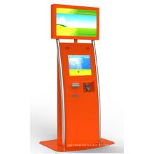 Kiosque d'écran tactile d'imprimante de billet de 15'17'19'vending