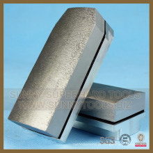 Ferramentas de polimento de granito ensolarado, Diamond Fickert