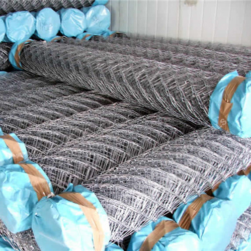 Galvanizado Chain Link Fence Diamond Wire Mesh