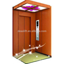 Good price villa elevator with wooden car wall
