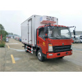 Sinotruk HOWO 129HP 4,2 metros single-row caminhão refrigerado
