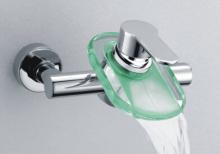 浴槽ガラス滝シャワー水栓 (S-015 C)