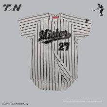 Jersey 2014 unisex del juego del softball del hombre