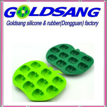 Lovely Apple Shape Silicone Ice Mould Ice Tray Ice Maker