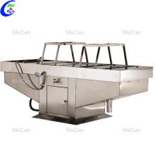 Équipement de la morgue en acier inoxydable table d'autopsie morgue