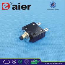 Daier ST-2A 5~50A 125VAC/250VAC/32VDC Circuit Breaker, Aluminum Black Type Miniature Circuit Breaker/