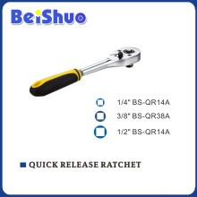 CRV Handle Quick Release Ratchet of Socket Wrench