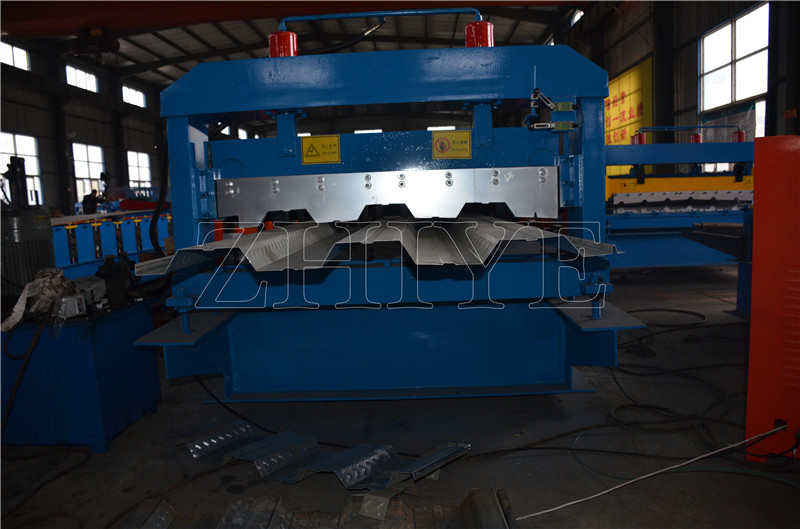 GI Steel Floor Decker Cold Roll Forming Machine