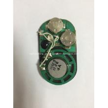 Sensor de luz módulo de som para caixa de presente, módulo vocal, chip de som, módulo de voz para saco de papel