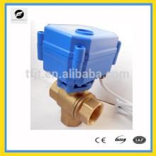 CWX15Q 3 Wege elektrische automatische Kugelhahn DN12 DN20 DN25 für Wassergeräte, kleine Ausrüstung für die automatische Steuerung