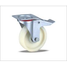Roda giratória com rodas de nylon