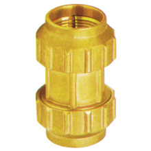 cw614n brass compression fitting for MDPE pipes