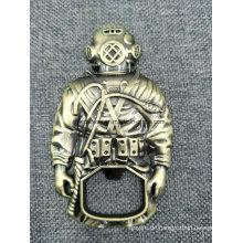 Hohe Qualität 3D Druckguss Bronze Flaschenöffner